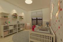 Kids room ideas \ Inspiracje - pokój dziecka