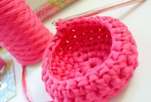 Crochet containers