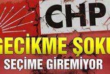 CHP Sarıyeri şimdiden kaybetti