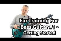 Ear Training For Bass Guitar - Talkingbass Lessons / These lessons deal with ear training from a bass guitar perspective