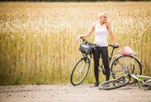 Rowerem wokół Wielkiej Pętli Wielkopolski / Tablica poświęcona walorom przyrodniczym oraz atrakcjom turystycznym, które można spotkać podczas uprawiania turystyki rowerowej na trasach Wielkiej Pętli.