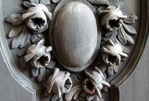 Орнамент двери