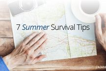 Healthy Traveling / Healthy travel tips and tricks.