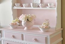 Painted Cabinets and Hutches