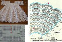 szydełko ubrania wzory