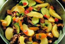 Recipes in Hungarian - vegetables / Zöldséges receptek magyarul