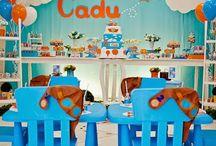 Festa Aviador / Vamos voar pela mundo da nossa imaginação neste lindo tema que encanta meninos e meninas!