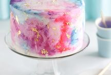 Water Colour Cakes