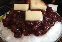 adzuki bean sherbet
