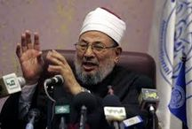 "Qaradawi ""died"" some time ago and located now ""دوبلير"" built by Israel ...!!!!"