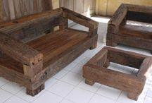 Sleeper wood furniture