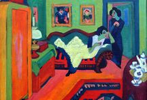 Ernst Ludwig Kirchner / Ernst Ludwig Kirchner (6 May 1880 – 15 June 1938) was a German expressionist painter and printmaker and one of the founders of the artists group Die Brücke