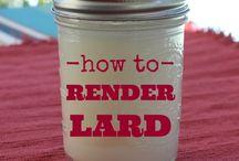 Uses for Lard