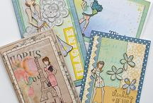 Cards using Julie Nutting / Cards, decor and mixed media featuring Julie Nutting stamps and designs