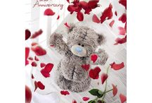 Me toYou Bear Anniversary Bears & Cards 2016
