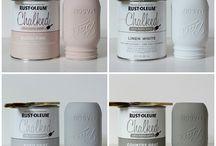 Chalk paint idees