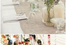 Green wedding ideas / This board is about 10 simple floral romantic wedding ideas for new brides