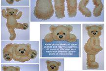 Tear Bear pattern and ideas / by Angela Neale Wattigney