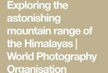 Catena montuosa dell'Himalaya
