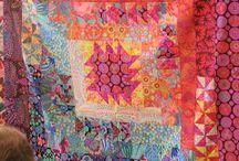 medalion quilts / Tkanina artystyczna