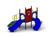 Minnie Me / The Minnie Me is a great value for children 2-5. This structure packs 8 play events in a small footprint. Kids will be able to jump, slide, and use the fine motor skills all in one place.