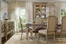 DINING Spaces / Dining Vignettes we admire...including a few of ours / by Hooker Furniture