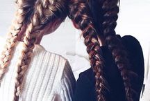 Hair Styles (Braids, curls, etc) Inspo