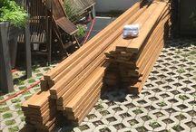 Terrassenbau mit thermisch modifizierter Kiefer / Selbstbau einer Holzterrasse mit thermisch modifizierter Kiefer
