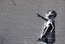 Banksy / by Prince Lionheart