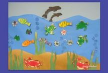 Under the Sea bulletin board / This page has a lot of free Under the Sea bulletin board for kids,parents and preschool teacher