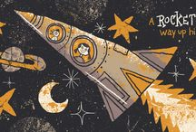 Rockets and Robots / by DancesWithFl✿wers