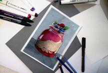Drawings / Rysunki. Drawings.