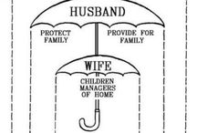 Marriage & Family / Pins that lift up the God-ordained foundations of society