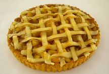 Pi Day  / Pies --  Fruit, Creamy, Savory anything round, served in a pie pan