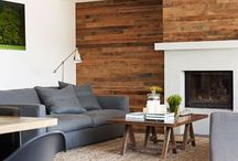 Ideas for a lovely living room / How to make a statement with oak in your living room