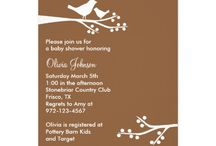 Baby Shower - Silhouette Birds / by Lisa Watson