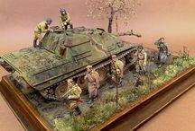 Tibor Atyi  . Diorama 1,35