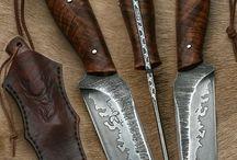 Knive / Fede idéer til knive og skeder.
