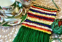 Crafternoons / Weaving and crafty workshops featuring afternoon tea.