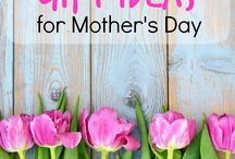 Mother's Day / Crafts, recipes, and gift ideas related to Mother's and Mother's Day.