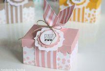 Geschenkboxen stampin up