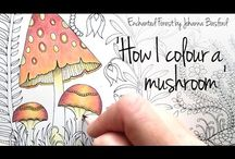 Coloring tutorials