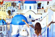 The Beautiful Island Of Santorini / The paradise that is Santorini, Greece.