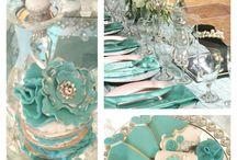 {Invitation Design} Tiffany Theme