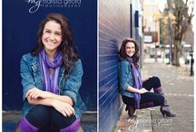 Kayleigh Senior Model Session / Hair, makeup, and posing ideas / by Kate Hejde