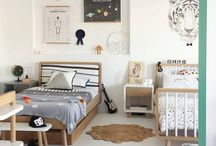 Muted Kidsroom and Nursery / The most stylish children's rooms, all with a muted colour palette.