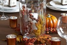 Fall Centerpiece Decoration