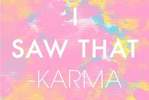 "Karma | Golden Rule | Reap/Sow / The philosopher Arthur Schopenhauer mentioned schadenfreude as the most evil sin of human feeling, famously saying ""To feel envy is human, to savor schadenfreude is diabolic."" But is it schadenfreude if said person is getting back the crap they created?  Hmmm, nonetheless be kind even if it kills you."