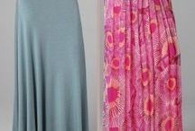 DIY Long Skirts