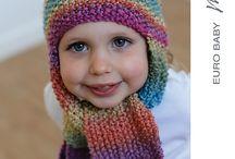 Crochet head bands and hats